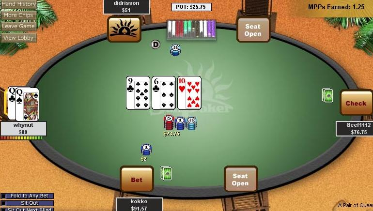 Free poker training online